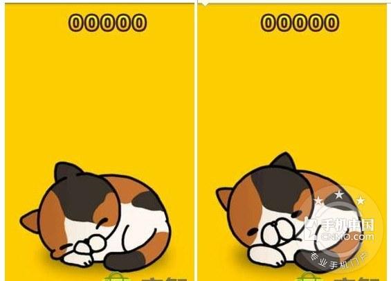 google market很火的一个小游戏,一只在睡觉的小猫,摸她会惊醒她,看